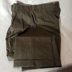 Ralph Lauren olive wool total comfort pants 36x34
